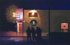 """2am Club by Daniel Cooper Acrylic ~ 24"""" x 36"""""""