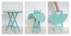 Mesa plegable ideal para espacios chicos - Mesas - Casa - 498726