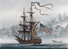 Lady Washington  \\ James Williamson . Watercolors