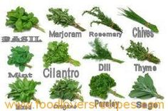 WHICH HERBS FOR MEAT AND VEGETABLES