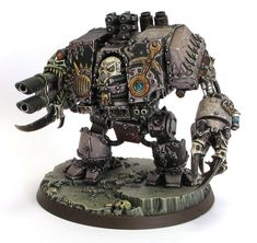 Slaanesh Helbrute Chaos dreadnought by daouide on deviantART