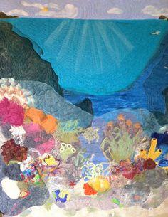 Beautiful sea quilt