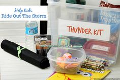Thunder Kit with glow in the dark activities for kids!