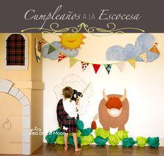Tea On The Moon - Viajes, niños, música, scrapbook, craft: Cumpleaños a la Escocesa + {Joana Serrat}