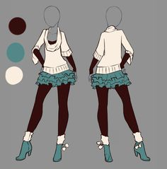Outfit ideas more anime dress, outfit drawings, manga clothes, drawing clot Manga Clothes, Drawing Clothes, Outfit Drawings, Anime Outfits, Girl Outfits, Anime Dress, Dress Drawing, Manga Drawing, Fashion Art