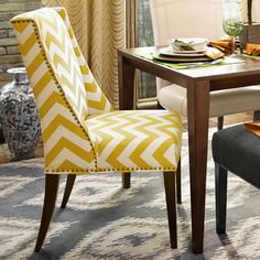 Owen Wingback Dining Chair - Vibes Gold