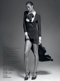 Karlie Kloss by Sean + Seng for 032c Summer 2013 Issue