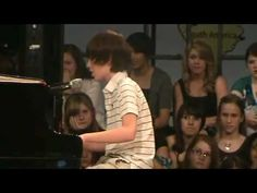 This is an oldie, but a goodie! 13 year old, Greyson Chance, wows all the girls with his first appearance... Lady Gaga (I LOVE watching the girls' reactions! Classic!!)