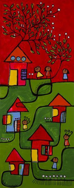 Para Mirar | Pinturas | Manchado Lucila | Centro Cultural Virtual | FARES TAIE Abstract Portrait Painting, Mark Rothko, Arte Popular, Deco, Maya, Folk Art, Origami, Graffiti, Illustration Art