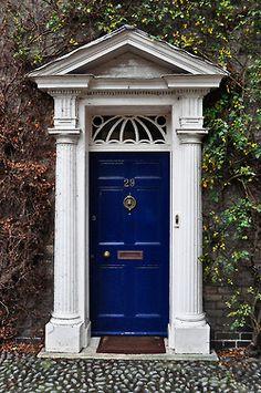 blue door - norwich, england