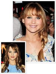 jennifer lawrence bangs
