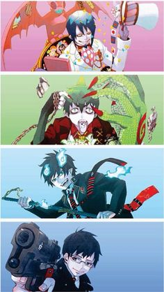 Love the fact Yukio seems to be the normal guy among all of them xD #AoNoExorcist