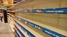 Venezuela is on the brink of collapse. With food prices skyrocketing, people are struggling to feed their families. Crime is on the rise. Long lines of people wind endlessly around the supermarket in the hopes of securing just the bare necessities. Oftentimes they go home empty handed.