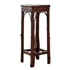 Bamboo Plant Table     was $99.99 now $29.99   SKU 115467 Small   10 inches wide x 10.5 inches long x 28 inches high     was $129.99 now $38.99   SKU 115468 Large   13.5 inches wide x 13.5 inches long x 32 inches high