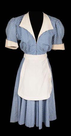 Bundlr - 1930's diner waitress uniform