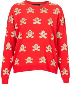 Gingerbread Man Sweater - Lyst one of my favorite holiday icons!