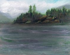 "Somer's Bay 8"" x 10"" Oil   #art"