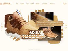 Adidas Tubular - Landing Page