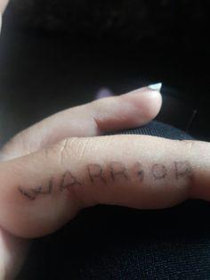 Stick n poke tattoo♡