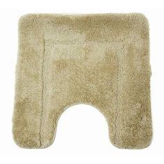 $12.70 Square Design Super Soft Cashmere Touch Beige Bathroom Pedestal (Contour) Mat (20 x 20 Inches) (Beige)  From Universal Textiles   Get it here: http://astore.amazon.com/ffiilliipp-20/detail/B003JEZTD2/182-9843226-8020300