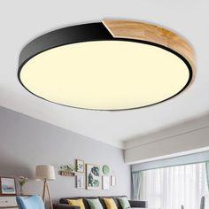 Led Ceiling Lamp, Flush Ceiling Lights, Glass Ceiling, Ceiling Light Fixtures, Modernisme, Style Rustique, Semi Flush Lighting, Metal Chandelier, Lampe Led