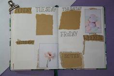 Bullet journal #4 - Mei, weekly spread Bullet Journal, Weekly Spread, Bujo, Dreams, Handmade, Hand Made, Handarbeit