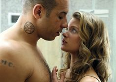 Vin Diesel and Mélanie Thierry in a scene from the film Babylon AD