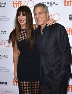 With the director George Clooney