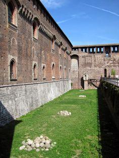 Castello Sforzesco, Milão Itália