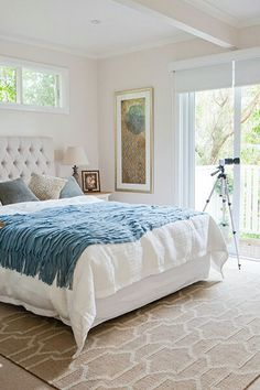 Before and after photos: NSW house reveal Bedroom Bed, Dream Bedroom, Home Decor Bedroom, Master Bedroom, White Bedroom, Bedroom Ideas, Bedrooms, Display Homes, Home Renovation