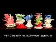 Vintage Style Candles Made In Water  @asadzarrinmehr