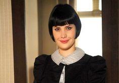"""Mayana Moura Mayana Moura na novela """"Passione"""" como a vilã Melina que era odiada, mas seu cabelo era amado por todas. A atriz chegou a dizer que era sempre parada na rua por causa do corte de cabelo"""