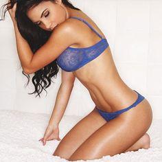 Stars in Dessous: Lisa MoralesSportlich und sinnlich: Fitness-Models Lisa Morales präsentierte ihren durchtrainierten Körper in heißen