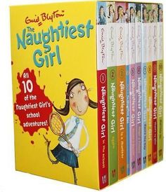 NEW The Naughtiest Girl Complete Boxed Set By Enid Blyton Multi-Copy Pack