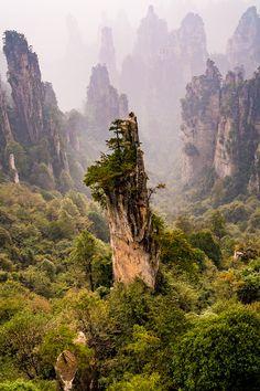 #Zhangjiajie National Forest Park, #China