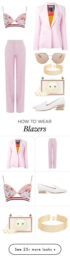 """Untitled #2453"" by dani-gracik on Polyvore featuring River Island, Paul & Joe, Gucci, Nicholas Kirkwood, Emilio Pucci, Christian Dior and Gorjana"
