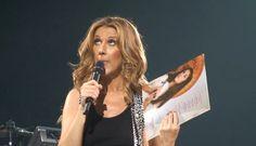 Celine Dion Funny face