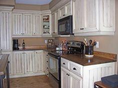 couleur armoire de cuisine champetre en bois - Recherche Google