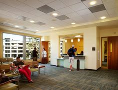 Image result for the well csus interior Sign System, Sacramento, State University, Wellness, California, Interior, Image, Design, Indoor