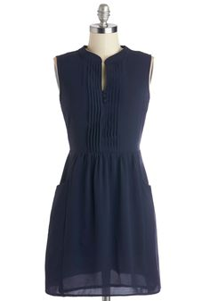 Sipping Punch Dress in Navy for $62.99 from ModCloth