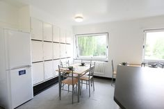 Bright, modern student accommodation in Manchester city centre at Chandos Hall Manchester City Centre, Student, Bright, Modern, Kitchen, Furniture, Home Decor, Trendy Tree, Cooking