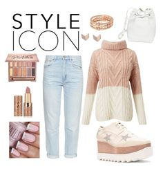 """""""Style Icon"""" by k-atherine-queen on Polyvore featuring M.i.h Jeans, STELLA McCARTNEY, tarte, Urban Decay, Henri Bendel, Mansur Gavriel, Miss Selfridge and FOSSIL"""