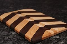 Amazon.com: Arrow Pattern Cutting Board: Handmade