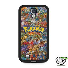 Pokemon All Monster Character Samsung Galaxy S4 Case