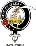 Matheson Clan Crest Badge from www.4crests.com #clan #crests # badges #clans #scottish #scotland #family #badge #crest #tartan #kilt #genealogy #heraldry #family