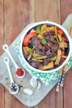 Stir Fry Peppercorn Beef Against All Grain | Against All Grain - Delectable paleo recipes to eat & feel great
