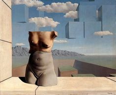 """""""The March of Summer"""", Sculpture by Rene Magritte (1898-1967, Belgium)"""