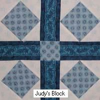 Garden of Eden free quilt block pattern. For use in my Family Tree Quilt.