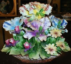 Capodimonte Floral Centerpieces   Capodimonte Floral Centerpieces