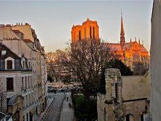 Paris Arrondissement 5 Vacation Rental - VRBO 390125 - 1 BR Paris Apartment in France, Fabulous Historical Apartment Face Notre Dame - Latin Quarter: This place looks awesome. Good district too!